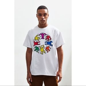 Mens Urban Outfitters Keith Harris Graphic Sz S